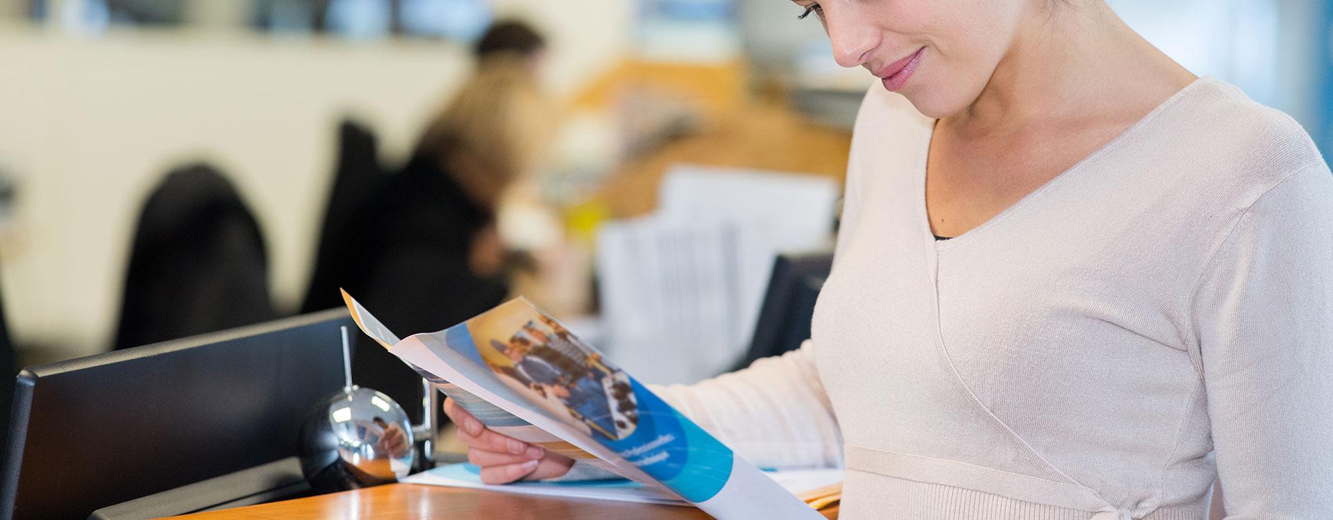 Broschyrer, kopiering och visitkort